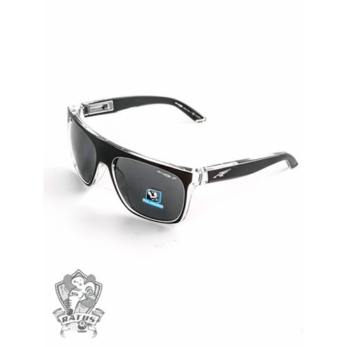 Óculos Arnette SQUAREVILLE - Gloss Black And Clear