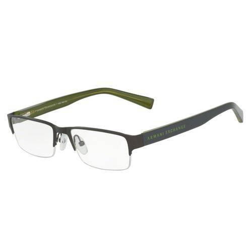 Óculos de Grau Armani Exchange Masculino AX 1015L 6072 Tam.52