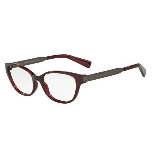 Óculos de Grau Armani Feminino Marsala AX3033L 8003 Tam.54