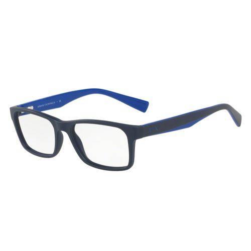 Óculos de Grau Armani Masculino Azul AX 3038L 8198 Tam.54