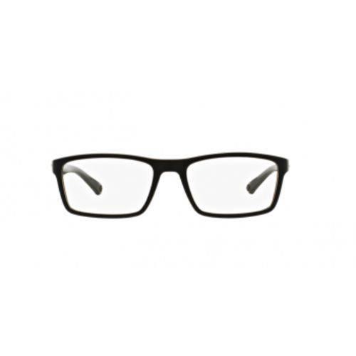 Óculos de Grau Arnette AN7088L 2216 Preto Fosco Lente Tam 53
