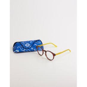 Óculos de Grau Haste Color - Amarelo U