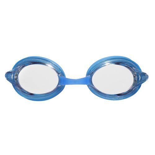 Óculos de Natação Azul Denim Lente Transparente Drive 3 Arena