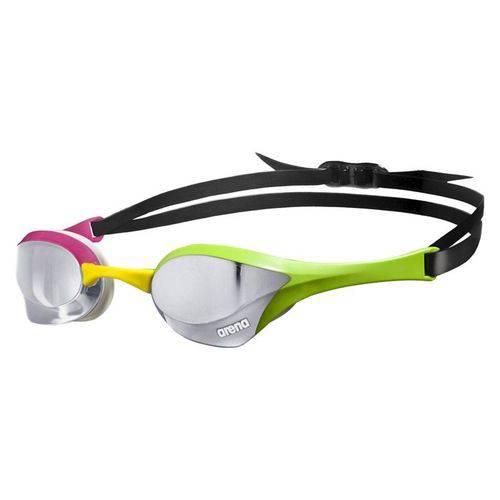 Óculos de Natação Cobra Ultra Mirror Arena/ Pink-Verde-Cinza