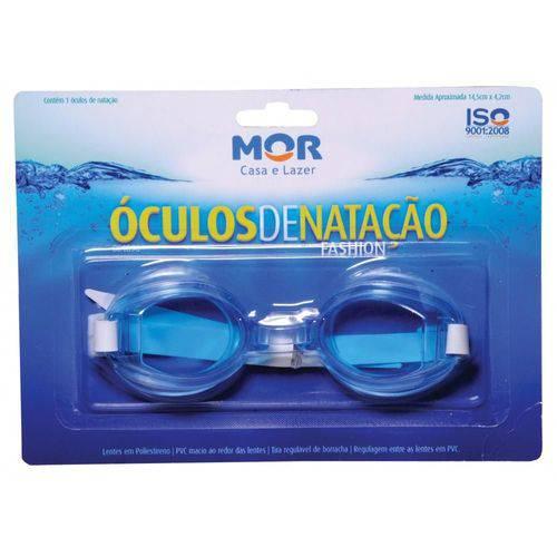 Óculos de Natação Fashion Mor - Azul - 001896