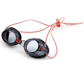 Óculos de Natação Fly Jr Arena Fumê/Vermelho
