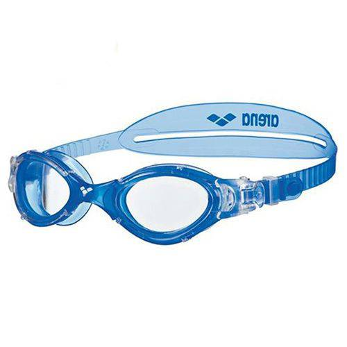 Óculos de Natação Nimesis Crystal Medium Arena - Preto/transparente