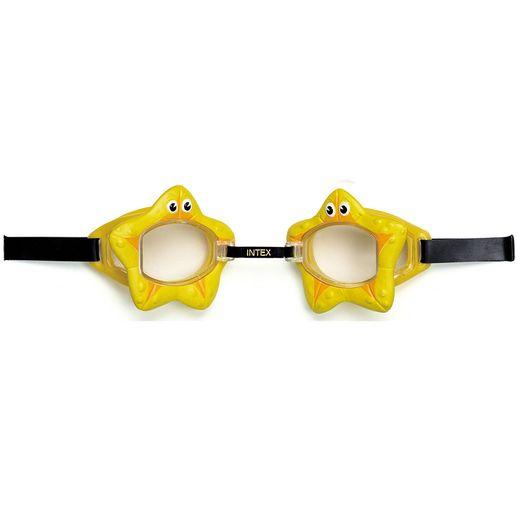 Óculos de Natação Play Bichinhos Animados Estrela- Intex
