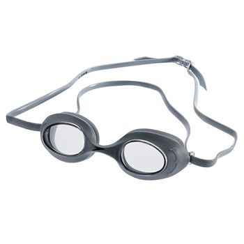 Óculos de Natação Speedo Flipper Cinza Cristal Único