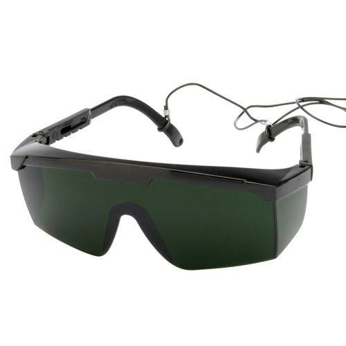 Óculos de Proteção Pomp Vision 3000 Lente Verde 5.0 com Tratamento AR 3M