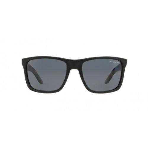 Óculos de Sol Arnette Witch Doctor AN4177 222981 Preto Fosco Lente Polarizada Cinza Tam 59