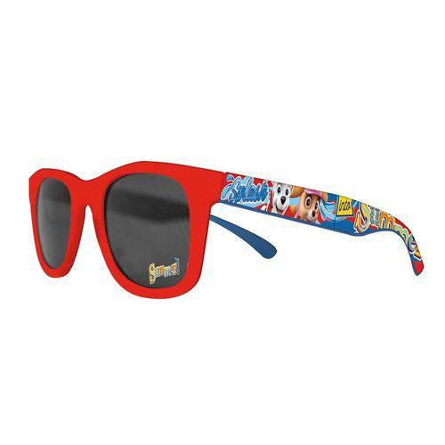 Óculos de Sol Patrulha Canina Vermelho - Dtc