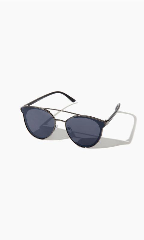 Óculos de Sol Preto Cat Eye U - PRETO