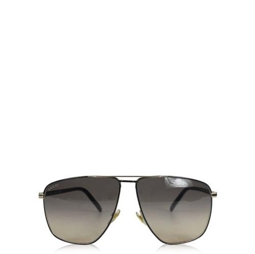 Óculos Gucci Square Marrom