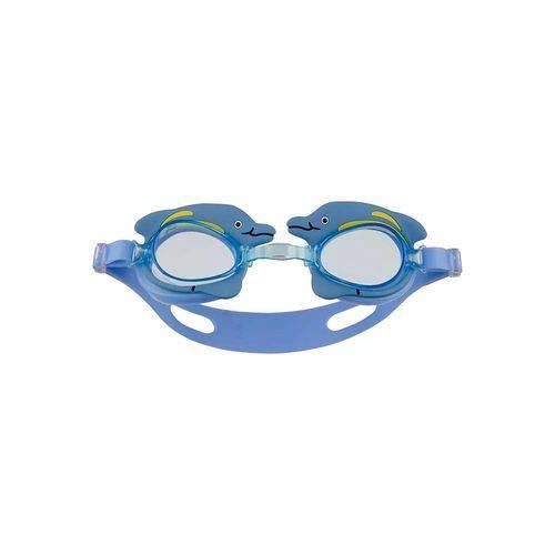 Oculos Natacao Infantil Bichinho Azul