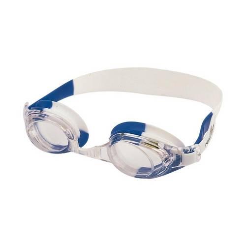 Óculos para Natação Bit Branco e Azul Ntk