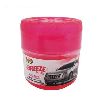 Odorizante Breeze Gel Morango ProAuto 60g