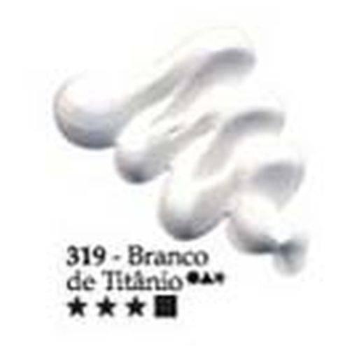 Oil Colors Classic Acrilex 20Ml 319 Branco de Titânio
