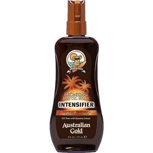 Óleo Bronzeador Bronzing Dry Oil Spray Intensifer - Australian Gold - 237ml