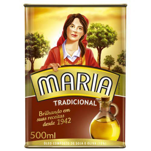 Oleo Comp Maria Lata 500ml Tradicional
