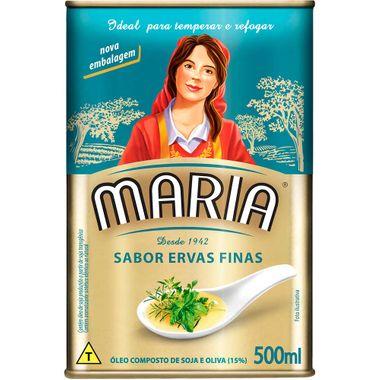 Óleo Composto Ervas Finas Maria 500ml