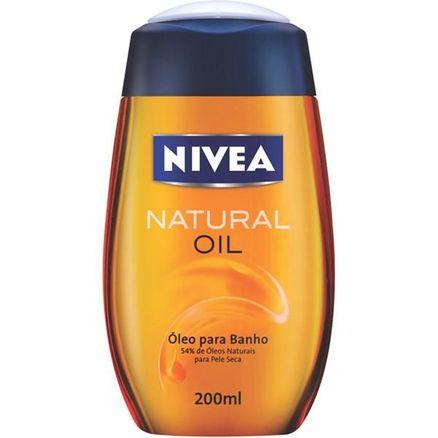Óleo Corporal para Banho Nivea Bath Care Relaxante 200ml