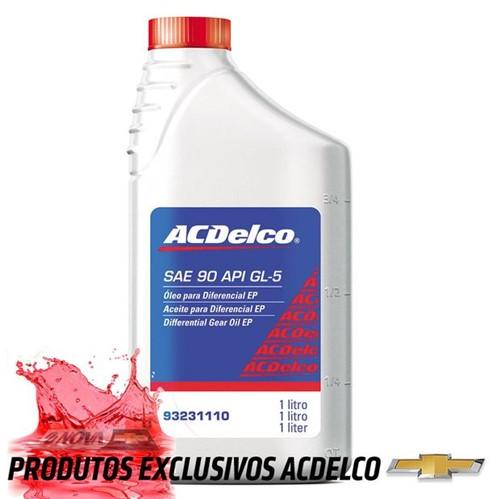 Óleo de Câmbio Manual & Diferencial Sae90 Acdelco 1 Litro 93231110 Prisma /celta /corsa Novo Classic /montana /astra /vectra /meriva /zafira /cobalt P