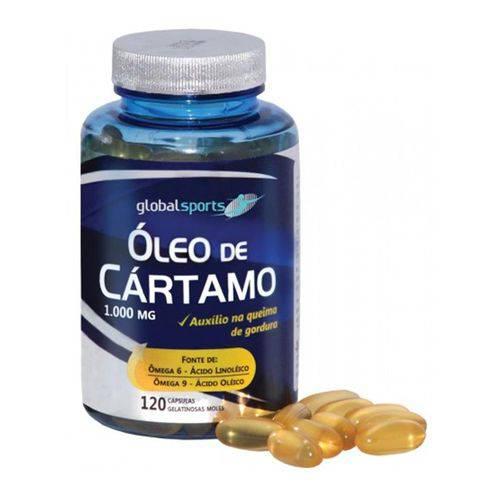 Oleo de Cartamo 120 Capsulas - Global Suplementos