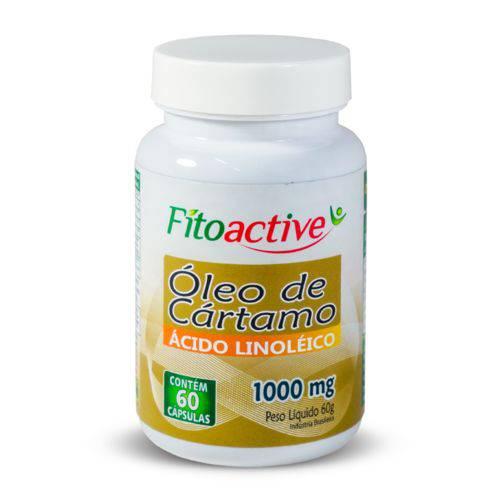 Óleo de Cártamo 1000 Mg 60 Cápsulas