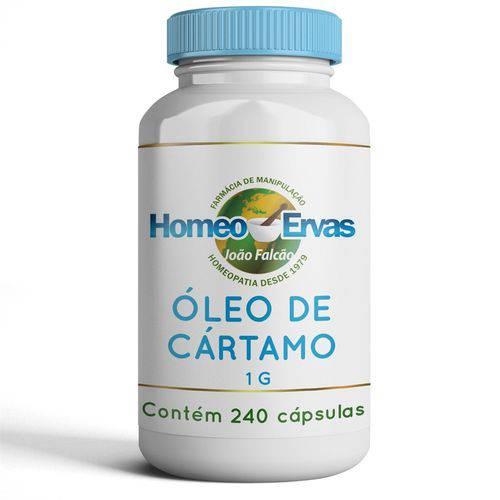 Óleo de Cartamo 1000mg - 240 Cápsulas - Homeo Ervas