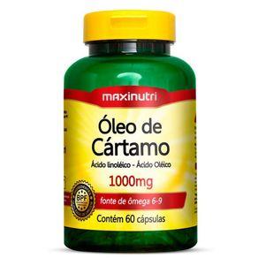 Óleo de Cártamo 1000mg - Maxinutri - 60 Cápsulas