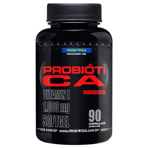 Óleo de Cártamo com Vitamina e 90 Cápsulas Probiótica