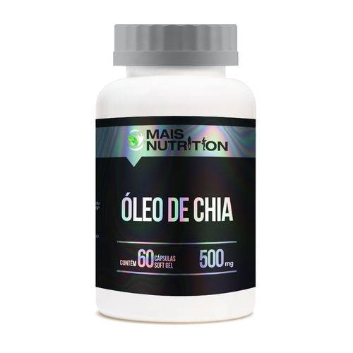 Oleo de Chia 500mg 60 Capsulas
