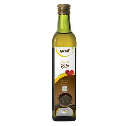 Óleo de Chia Extra Virgem 250ml - Giroil