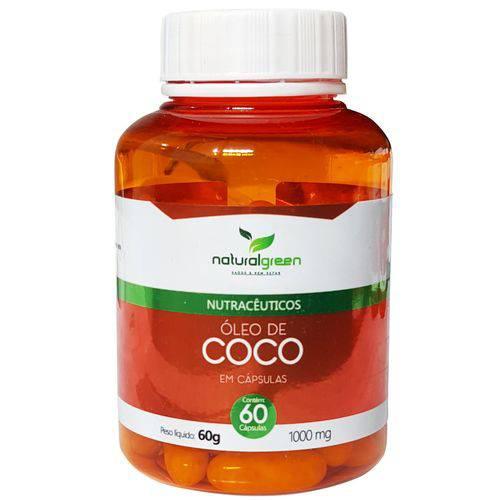 Óleo de Coco 1000mg com 60 Cápsulas