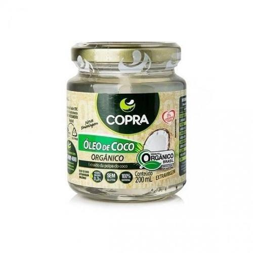 Oleo de Coco Copra 200ml Organico