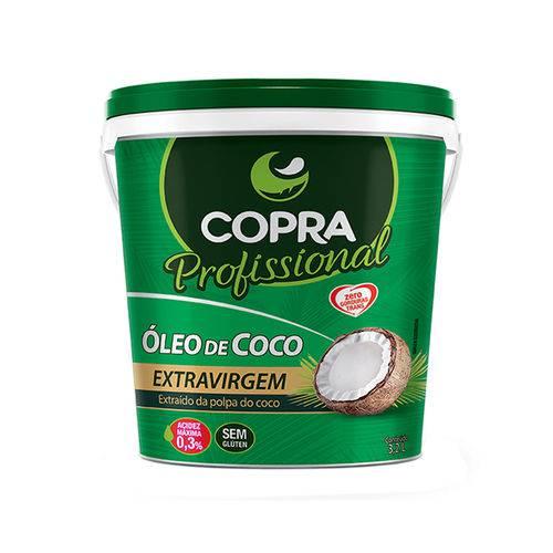 Óleo de Coco Copra Extra Virgem 3,2 L