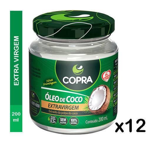 Óleo de Coco Copra Extra Virgem 12 X 200ml