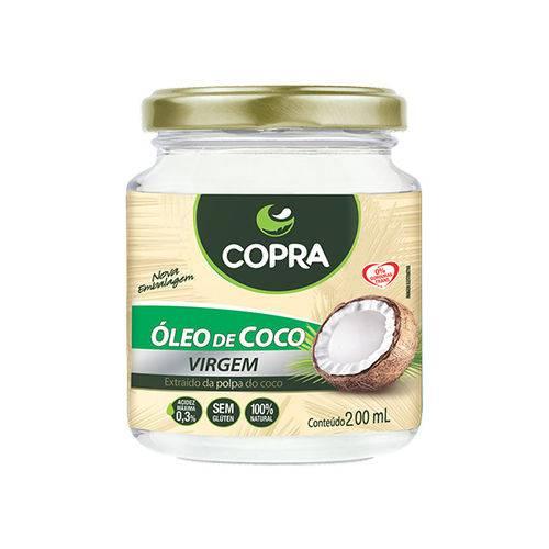 Óleo de Coco Copra Virgem 200ml