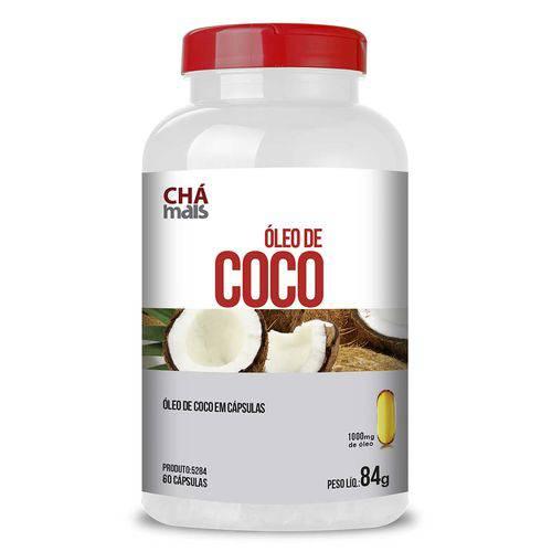 Óleo de Coco em Cápsulas - CháMais - 60 Caps