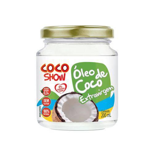 Óleo de Coco Extra Virgem - 200 Ml - Coco Show - Copra