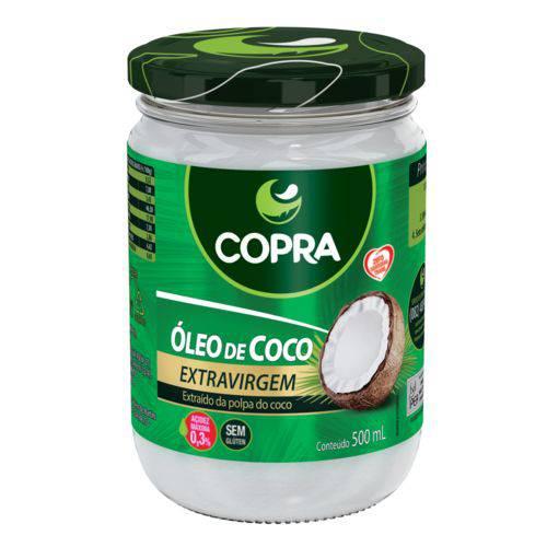 Óleo de Coco Extra Virgem 500 Ml Copra