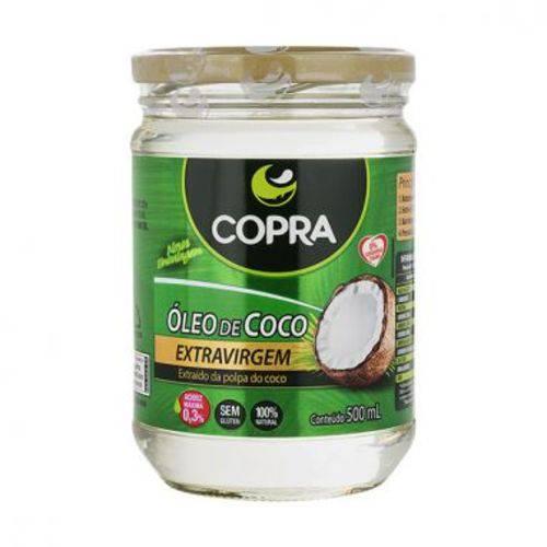 Óleo de Coco Extra Virgem 500 Ml - Copra