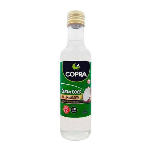 Óleo de Coco Extra Virgem 250ml Copra