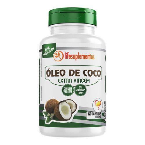 Óleo de Coco - Extra Virgem - 60 Cáps. - 1000mg