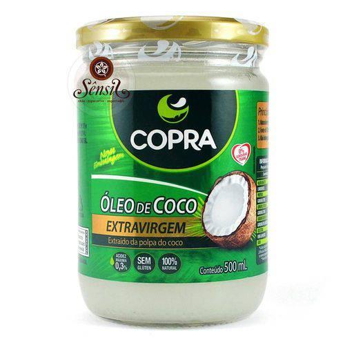 Óleo de Coco Extra Virgem Copra 500 Ml