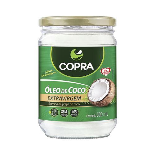 Óleo de Coco Extra Virgem - Copra - 500ml