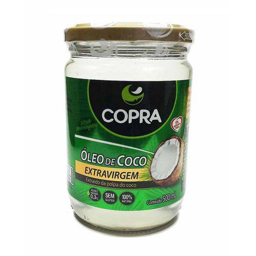 Óleo de Coco Extra-virgem Copra 500ml