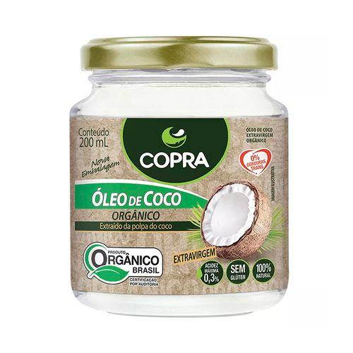 Óleo de Coco Extra Virgem Orgânico - Copra - 200ml