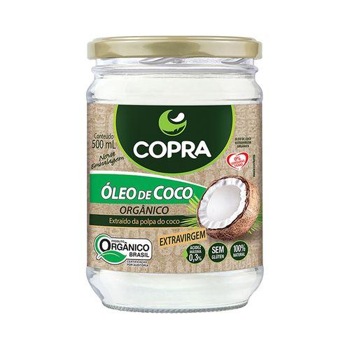 Óleo de Coco Extra Virgem Orgânico - Copra - 500ml